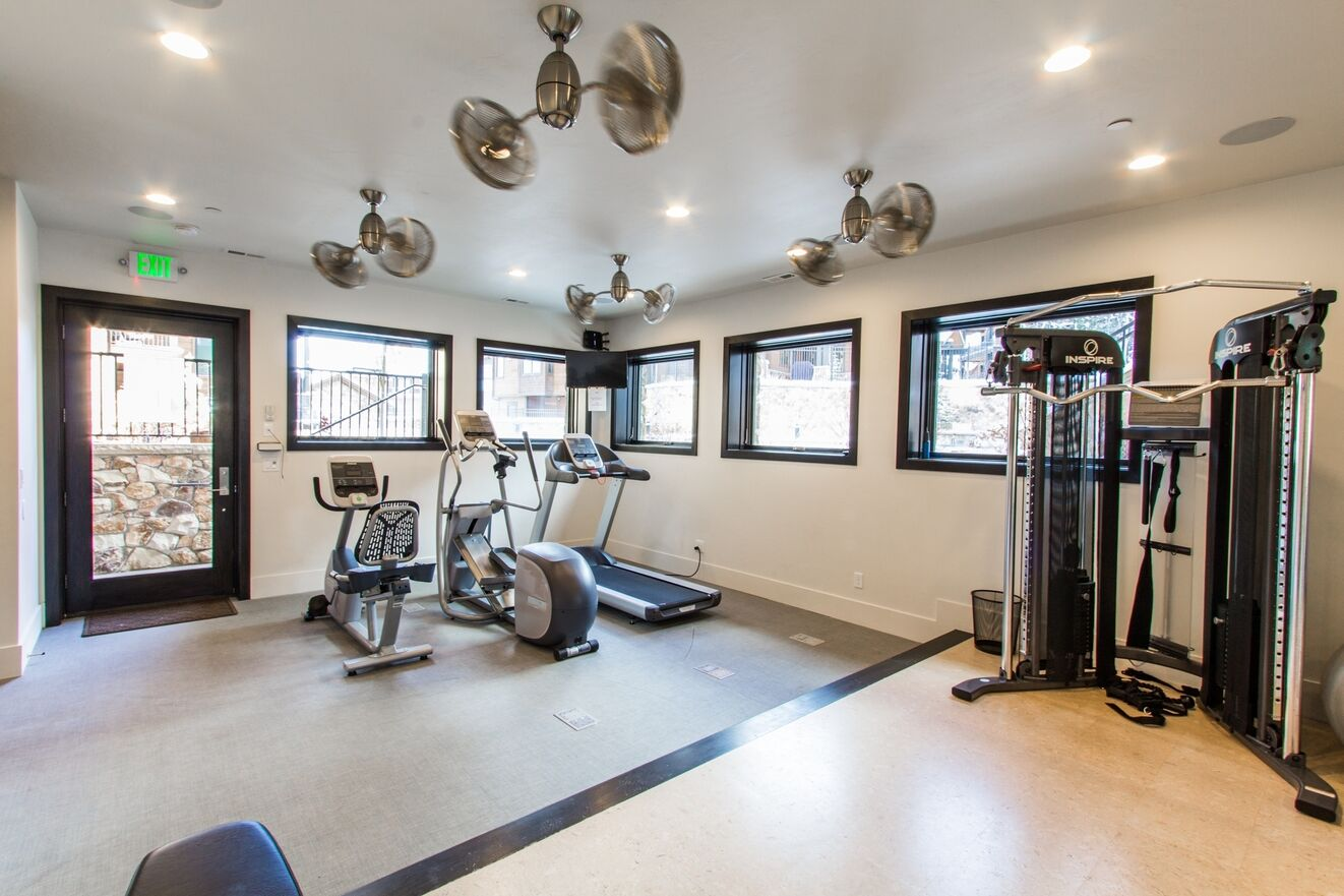 Communal Fitness Room