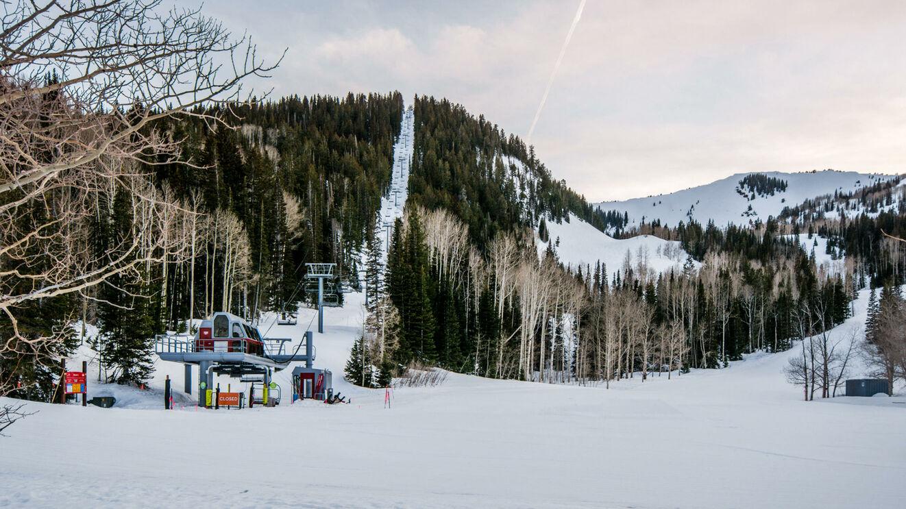 Peak 5 Ski Run Access