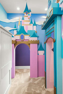 No need to go far to see a magical castle