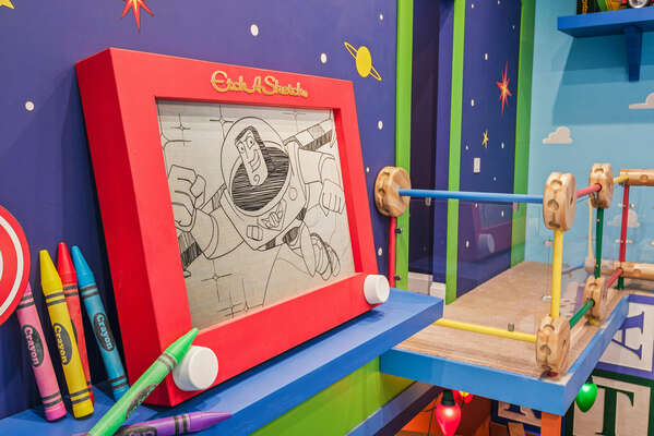 Kids will be overjoyed when walking into their playroom