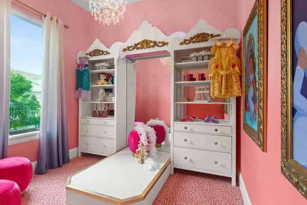 Princess Dress Up Boutique that will truly add magic to your child's vacation