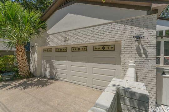 Garage of the Rental