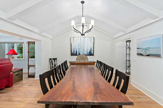 Dining Table with seating for eight