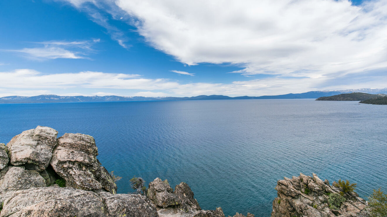 Lake Tahoe from Cave Rock