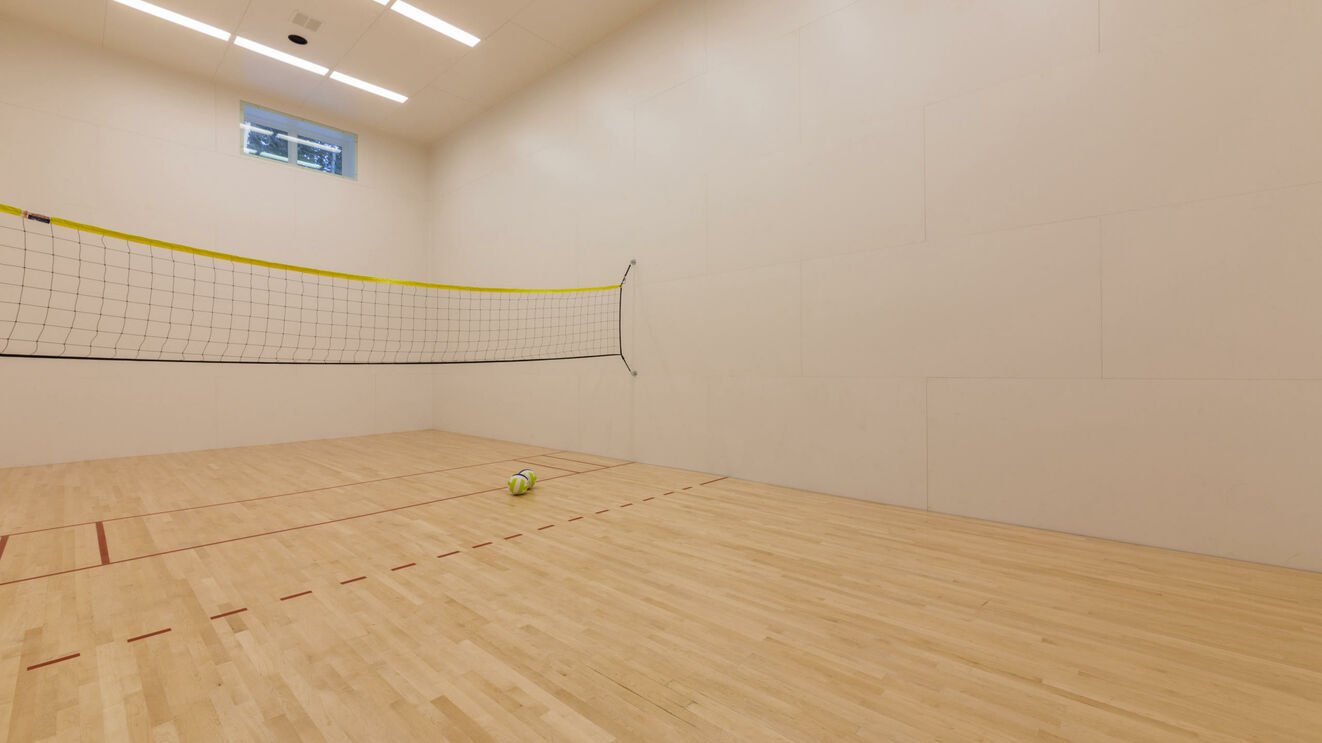 Basketball/Volleyball/Raquetball Court