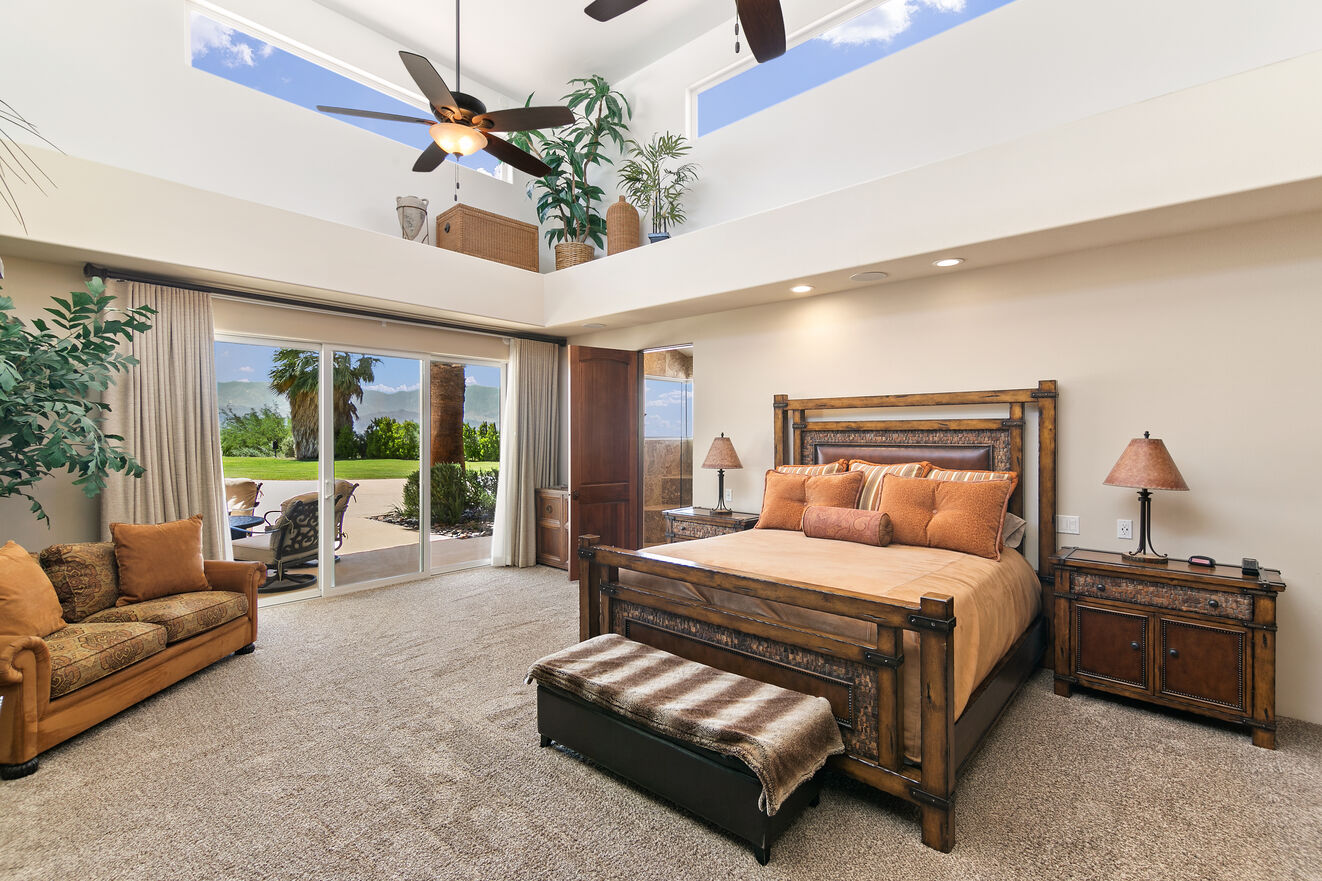Master Suite Main House