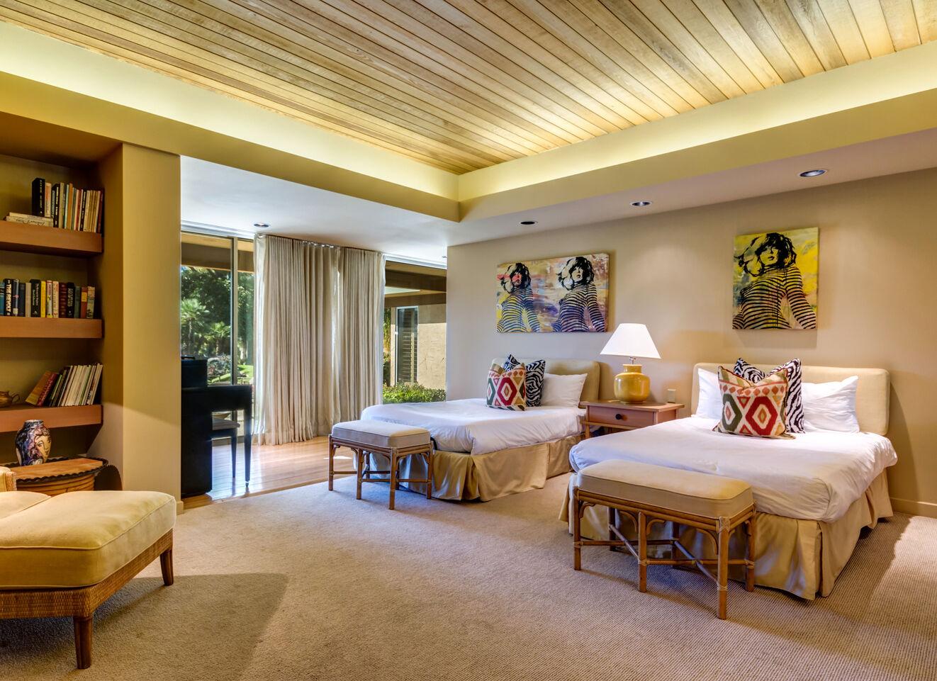 Bedroom 4 Guest Suite - West Wing