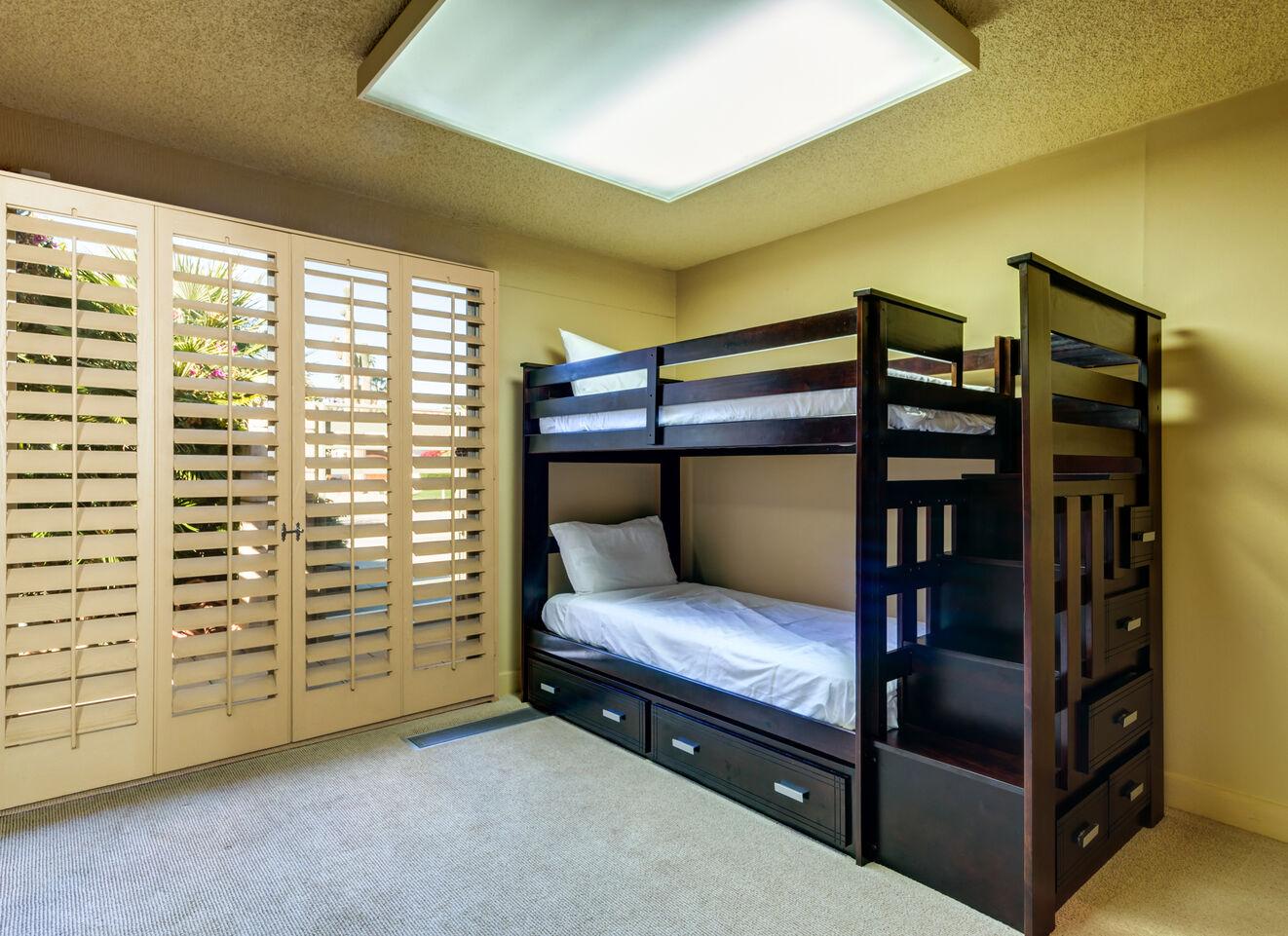 Bedroom 3, Guest Suite - East Wing