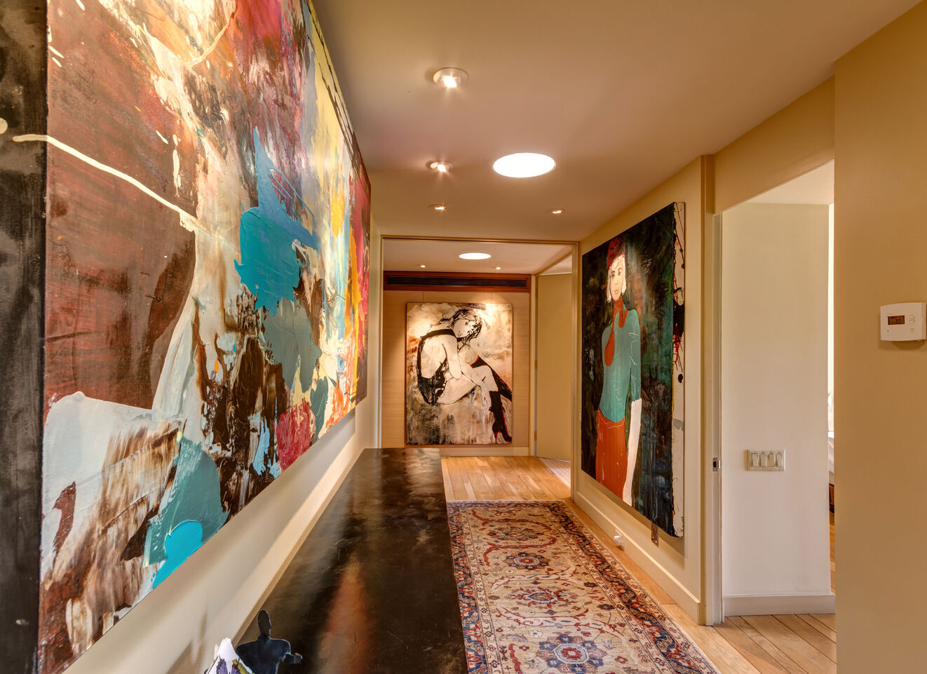 Grand Hallway with Gallery