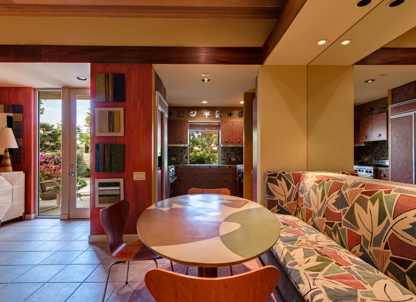 Attached Casita Lounge Area