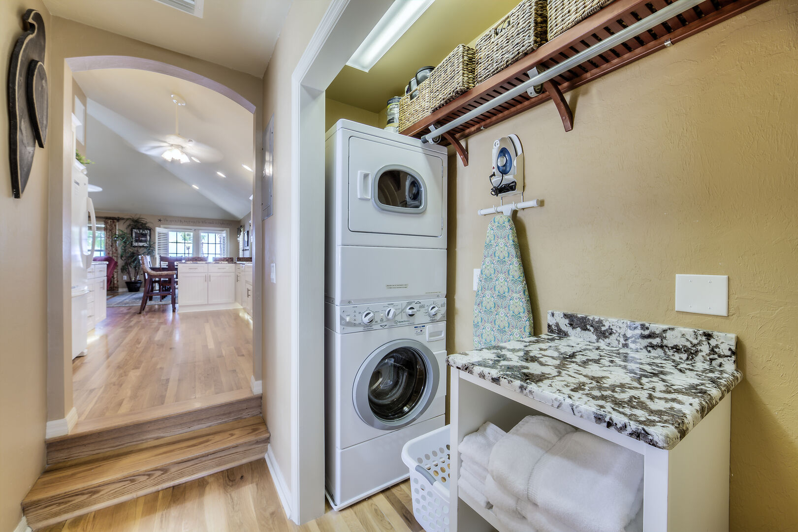 Laundry and Utility Area in Crow's Nest