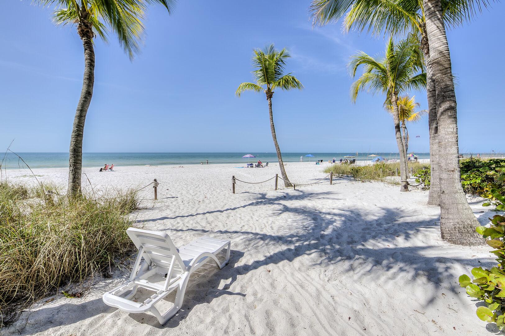 Fort Myers Beach Rental Beach View