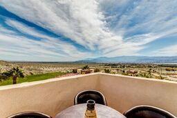 Tower Balcony Overlooking Coachella Concert Grounds