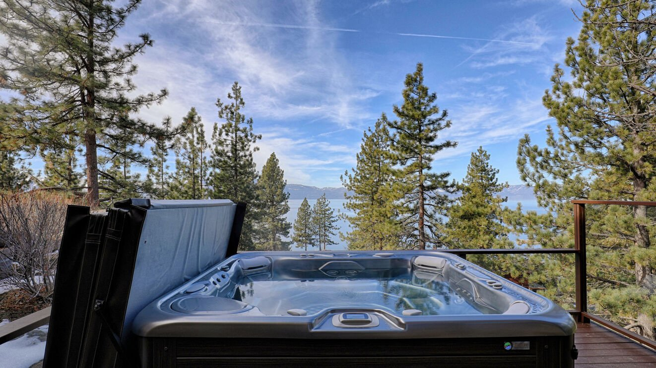Private Hot Tub Summer