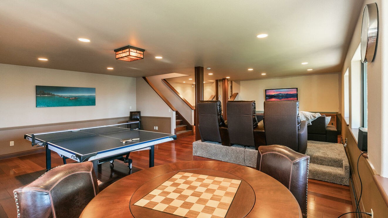 Lower Level 2 Game Room & Home Theater