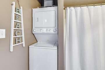 Washer in dryer in unit