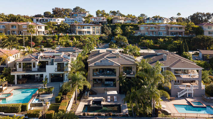 Aerial Image of San Diego Vacation Rental.