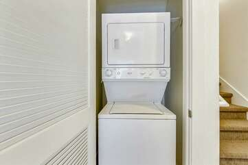Laundry provided for your use