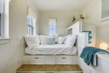 Another space where guests can sleep