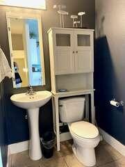 Half bath on Living Room / Kitchen level