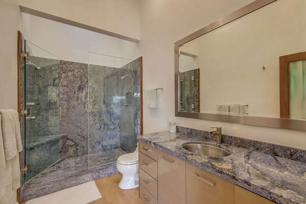 Master En-Suite Bath with Walk-In Shower