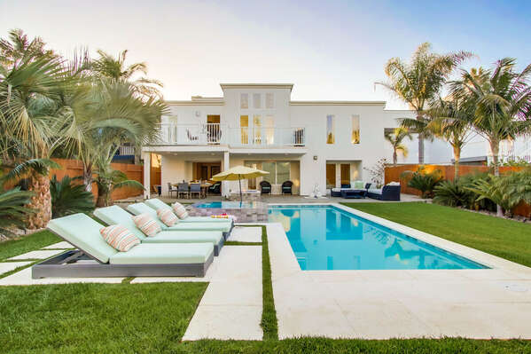 Backyard with Private Pool