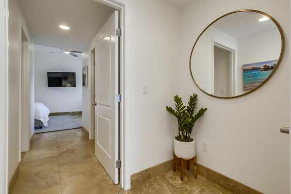 Image of Entry to Master Bedroom.