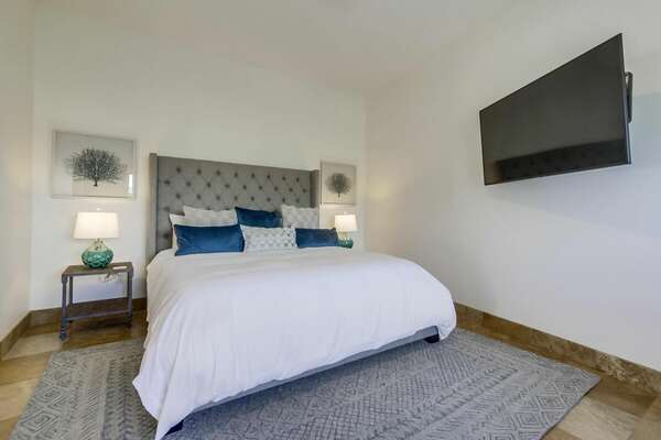 Master Bedroom Includes King Bed.