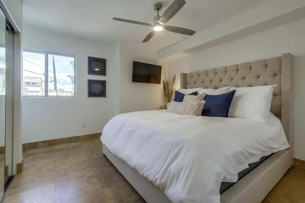 Guest Bedroom Includes King Bed.