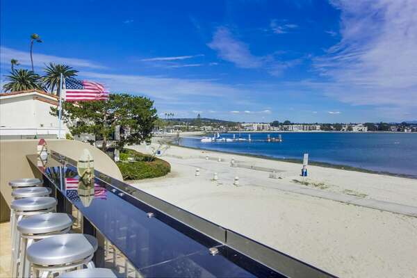 Enjoy Bayfront Living in this Proeprty.