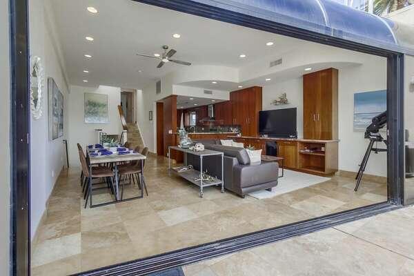 Enjoy Outdoor and Indoor Living in Home.