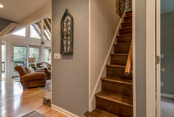 Stairs to Twin Bed Loft