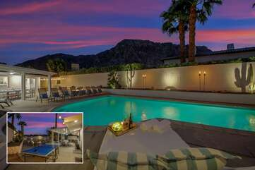 Book a vacation at this ultimate luxury property! Located in the heart of La Quinta, Highland Palms Hideaway is a stylish 4 bedroom, 2 bath home offering 1,786 square feet of entertainment and relaxation. You will wish you never had to leave.