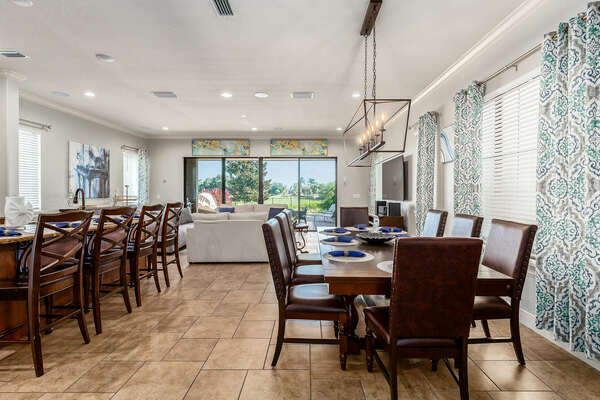 This homes welcomes you with an open floor plan concept