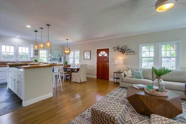 Living Room & Kitchen - Ground Floor