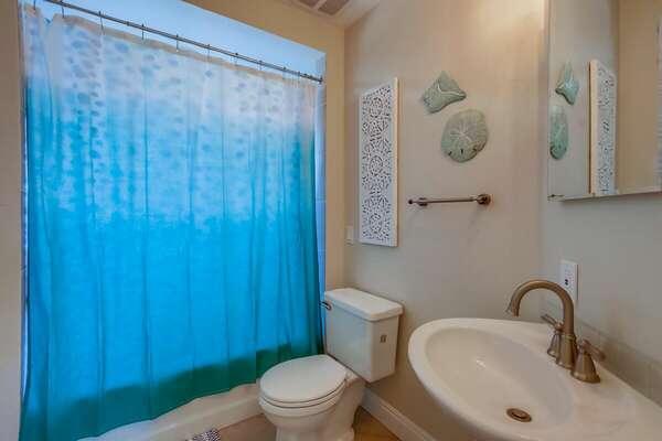 Full Bathroom with tub shower - 2nd Floor