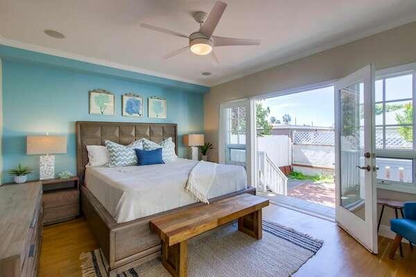 Guest Bedroom 2 - King Bed - Ground Floor