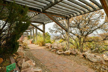 Property and surrounding views of this Moab place to stay.