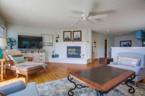 The Open Living Room on Floor 2 in BALBOA832