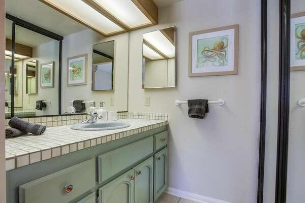 Guest Bedroom Vanity - Ground Floor