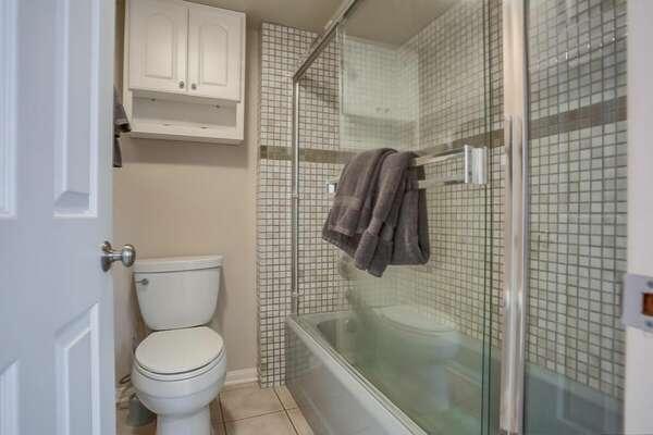 Full Bathroom with tub Shower - Ground Floor