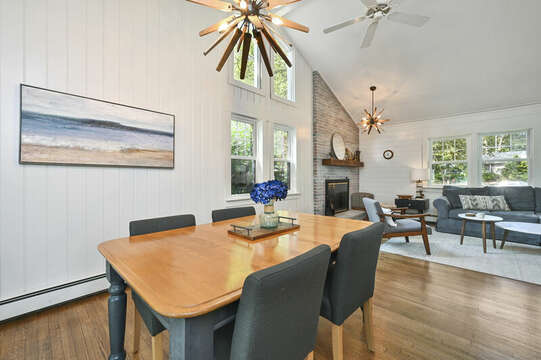 Dining table - 46 Holly Point Road Centerville Cape Cod