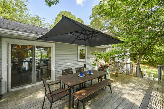 Great outdoor space - 46 Holly Point Road Centerville Cape Cod