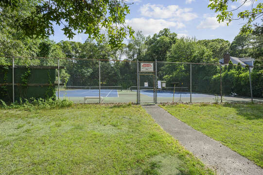 Access to resident tennis court around the block - 46 Holly Point Road Centerville Cape Cod