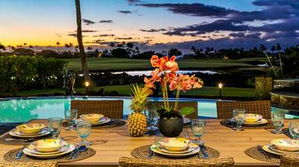 Perfect location for a sunset dinner!