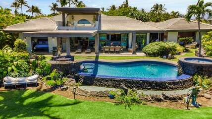 4 bedrooms, 3.5 baths, Ocean and Golf Course Views