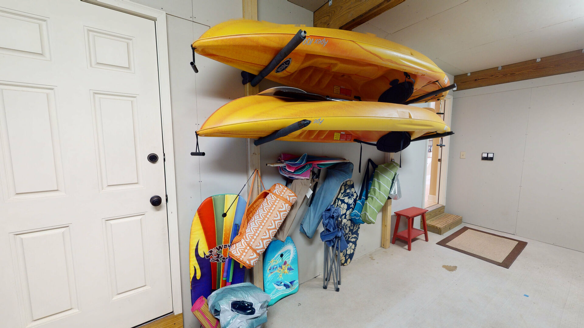 Guests Can Enjoy Access to Kayaks.