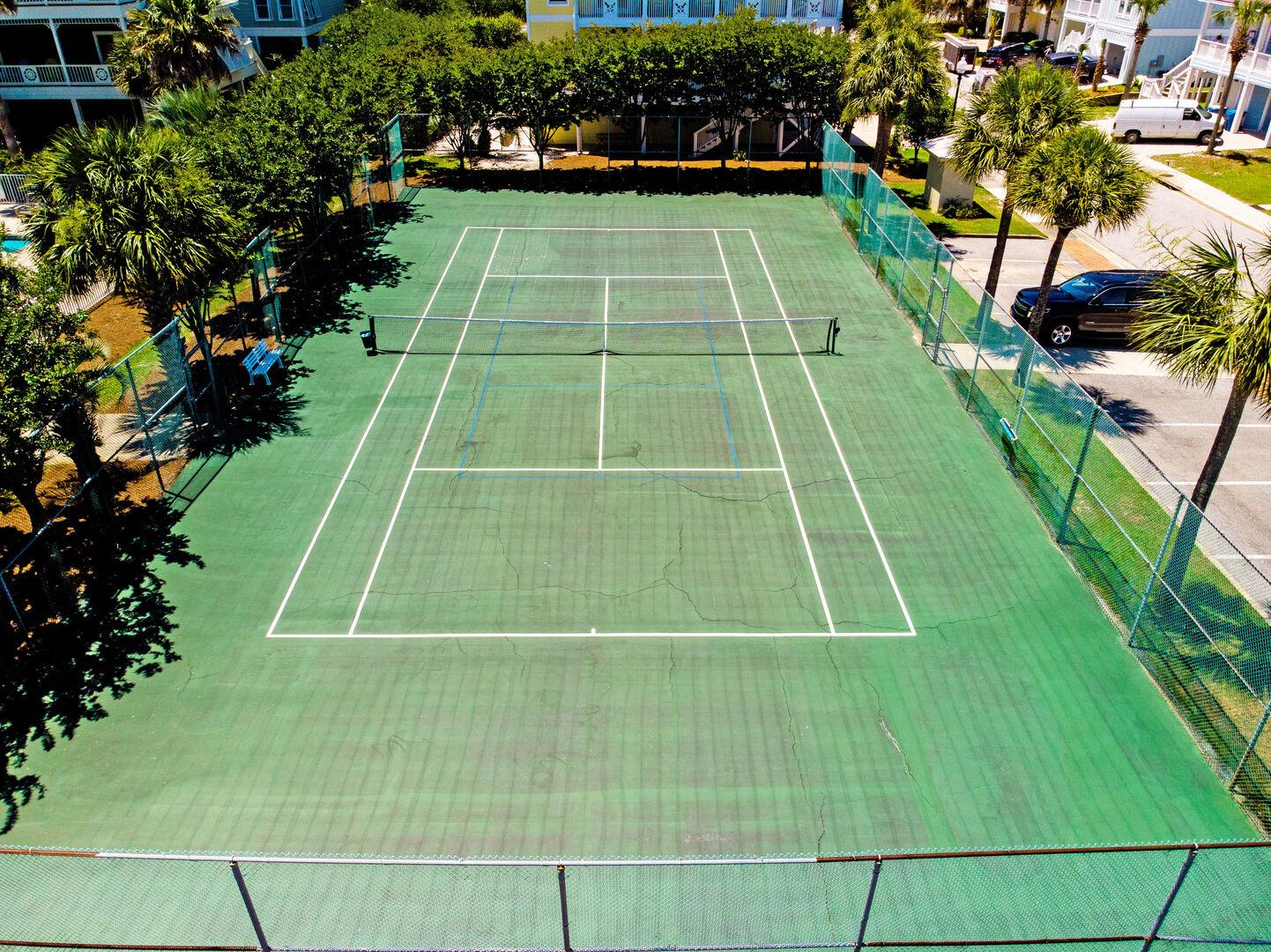 Enjoy Access to Tennis Courts.