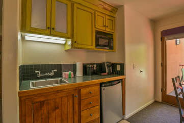 Kitchenette in unit