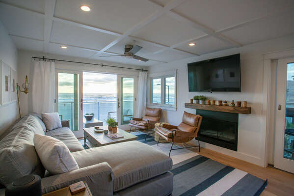 Ocean Views Throughout our Mission Beach House Rental